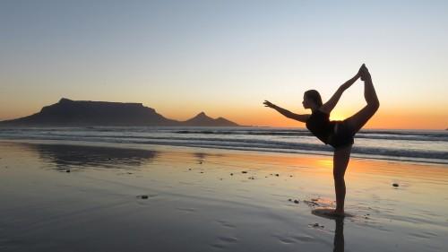 #Yoga #Girl #Beach #Sunset #Summer #Vacation
