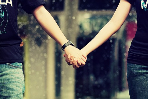 Hold my hand forever?  #Love  #Trust