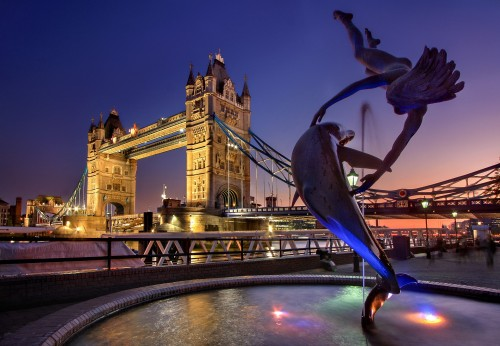 Tower Bridge of London is a beautiful piece of work and is a great inspiration for upcoming architects.