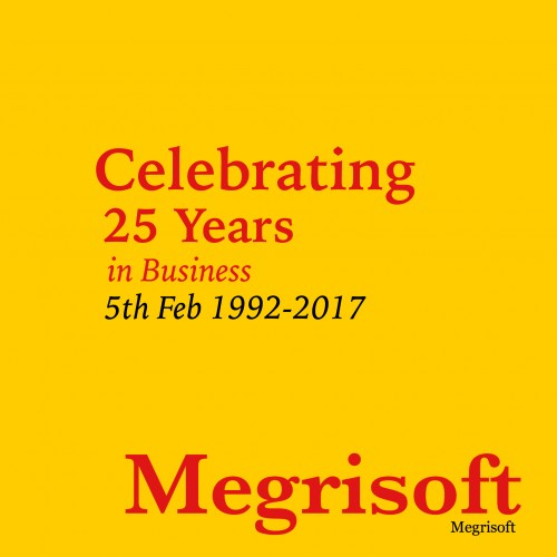 Megrisoft Celebrates 25 Years of Services in IT Business