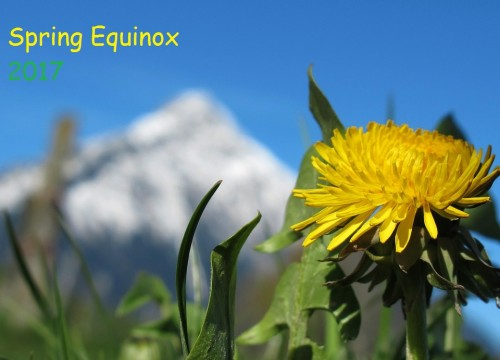 Celebrating Spring Equinox rituals UK 2017 on 21st March