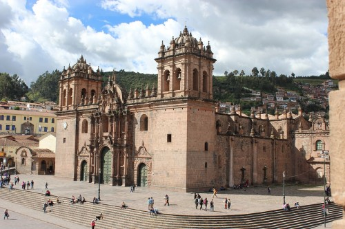 Beautiful Architecture  Of Ancient Peru, 