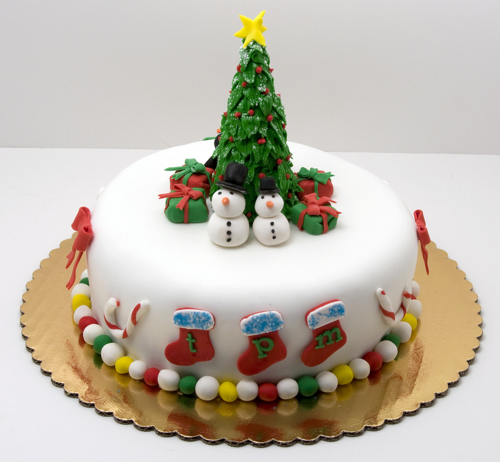 Christmas Cake - Instamoz Photo sharing