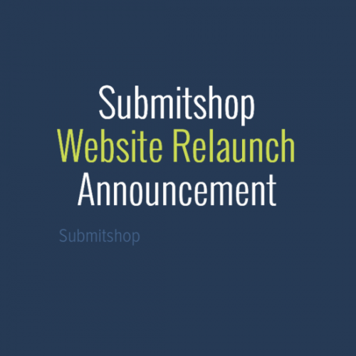 Submitshop team is happy to announce the launch of its redesign website. New website features dynamic blog, better user experience and services with ecommerce module for faster execution.
