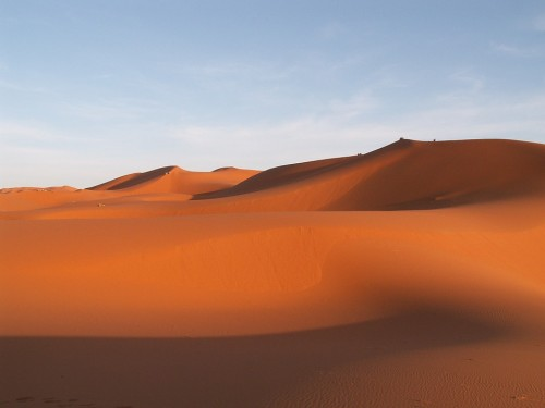 The Desert Is A Natural Extension Of The Inner Silence Of The Body .