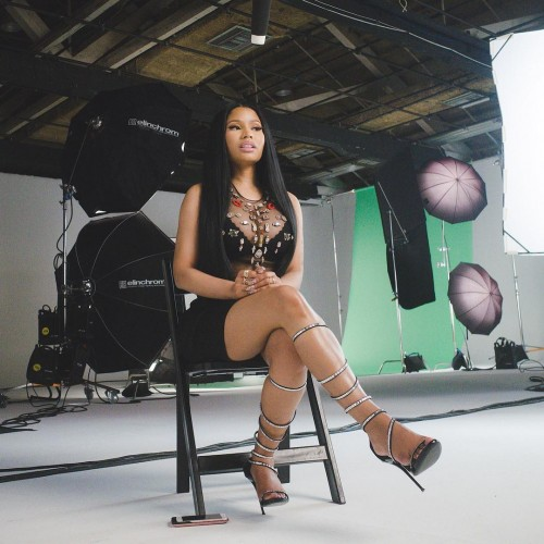 Nicki Minaj Shoot Time