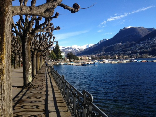 Lugano Riva Caccia Lake Front Switzerland