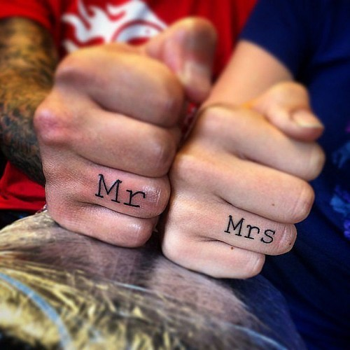 Real Couples Who Gave Up Their Engagement Rings For Tattoos