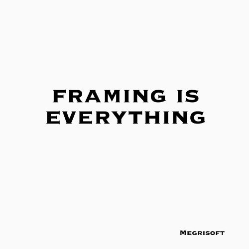 Framing is Everything a text code on Image. Free to use photo.