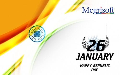 Megrisoft wishes Happy Republic Day 2018