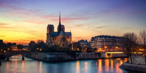 How Paris looks like in evening Paris Photo, pictures, Image