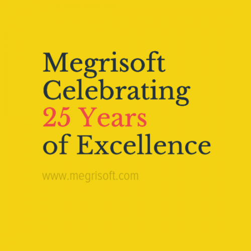 Today 5 February 2017 Megrisoft's Celebrate its 25th Birthday. A milestone achieved. Celebrating 25 Years of Excellence in Web Solutions. Megri Soft Limited (Est. 1992)