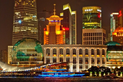 Shanghai is a city in China Popular for tourism.