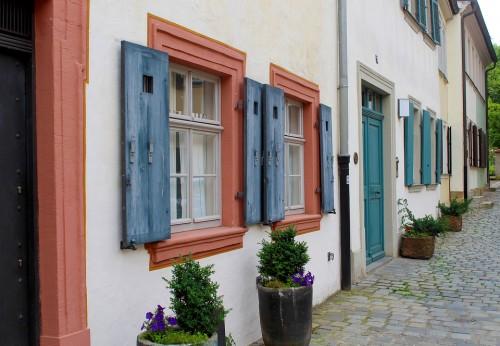 Bamberg facade window
