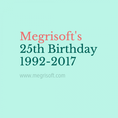 Megrisoft 25th Happy Birthday 1992-2017. the company founded in 1992 by Mohnesh Kohli