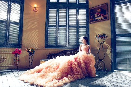 Adorable bridal wedding shoot.