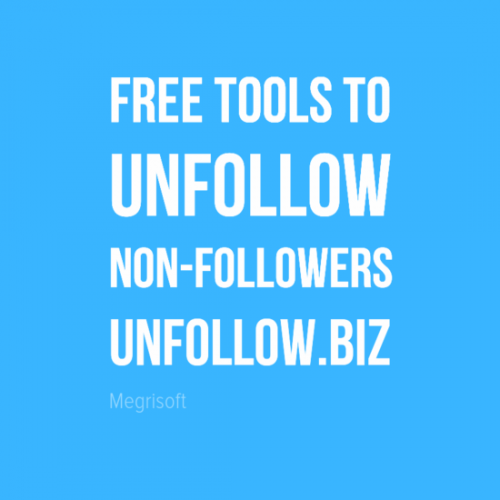 Discover and unfollow twitter users who are not following you Twitter unfollow tools to mass unfollow non-followers or inactive users http://unfollow.biz/