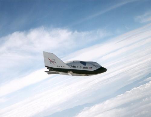 X 38 Space Vehicle