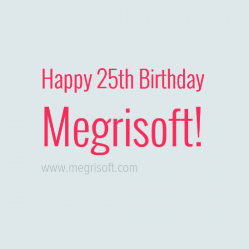 Megrisoft Turns 25 Year Old Today Thanks To Customers, Vendors, Staff, Outsourcing Partners http://megr.in/25  #seo #apps #webdesign