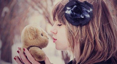 #Sweet #Girl  #love #Teddy