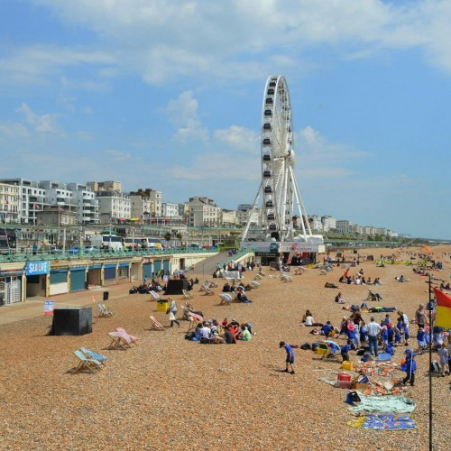 Brighton began to attract more visitors following improved road transport to London and becoming a boarding point for boats travelling to France