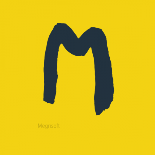 I just tried to write M Alphabet in a image. I created this poster to be used by person who love M or whose name start with M