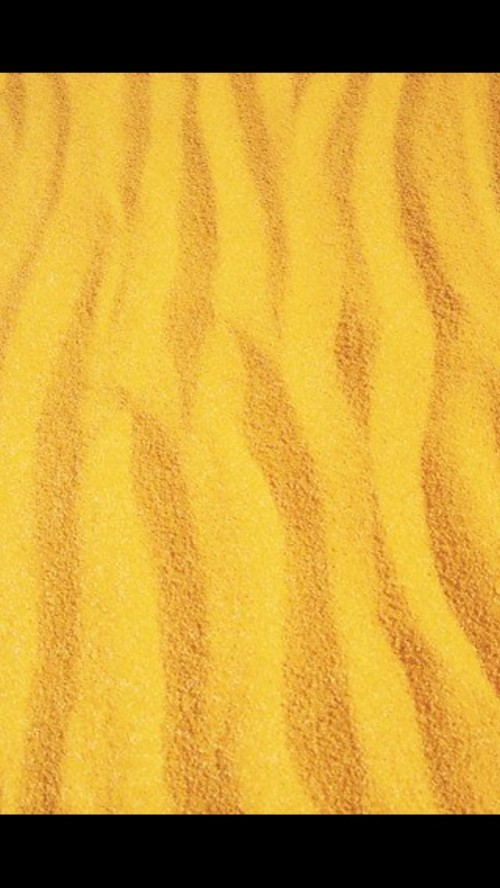 Yellow Sand in Yellow Desert. It is hot do not tocuh