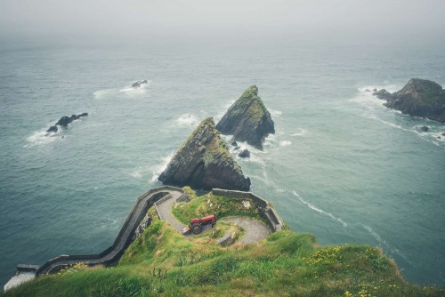 The Dingle Peninsula, on Ireland's southwest Atlantic coast, is ringed by sandy beaches and craggy cliffs.