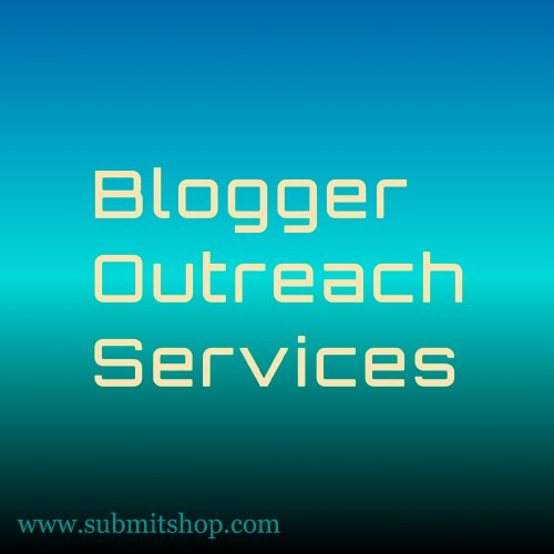 Blogger outreach services given by SubmitShop.
