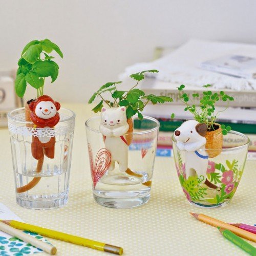 Cute Self Watering Animal Planters