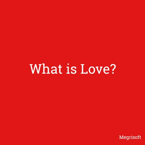 What is a love poster, image, card and photo