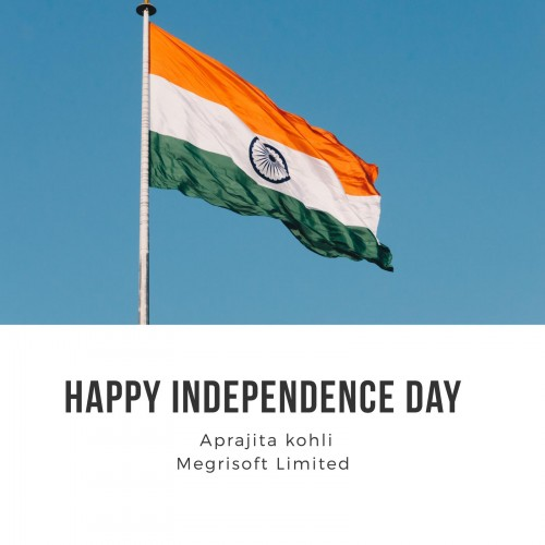 India Independence Day Card images and poster by Aprajita Kohli