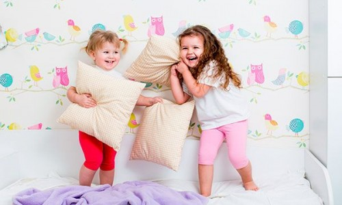 Every child has done Pillow fighting in their childhood
