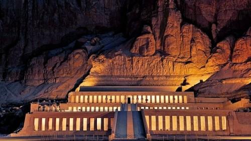 Hatsheput mortuary, Egypt