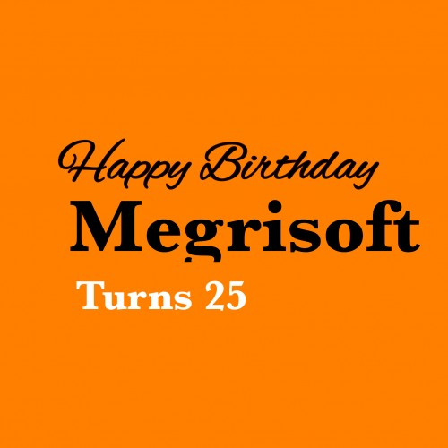 Megrisoft's Celebrate its 25th Birthday.