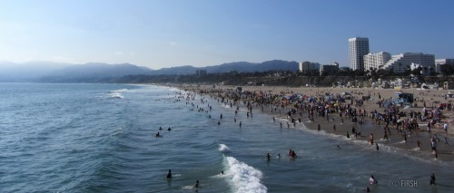 Santa Monica is a beachfront city in western Los Angeles County, California, United ... people to the city's beaches from across the Greater Los Angeles Area.