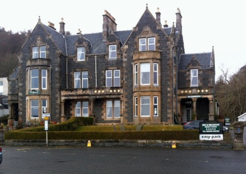 Glenrigh Guest House Oban, Scotland Hotel. Oban Bed and Breakfasts features Glenrigh Guest House, a delightful four star bed and breakfast establishment in the heart of the tourist town of Oban