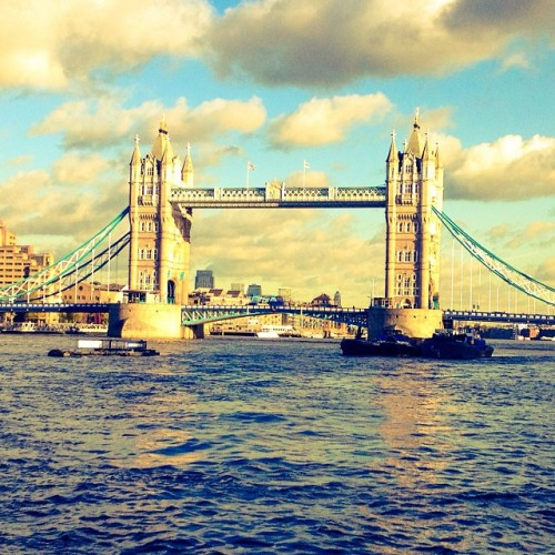 Tower Bridge is a combined bascule and suspension bridge in London which crosses the River Thames. It is close to the Tower of London, from which it takes its name, and has become an iconic symbol of London. Address: Tower Bridge Rd, London SE1 2UP, United Kingdom Opened: June 30, 1894 Construction started: April 22, 1886 Body of water: River Thames